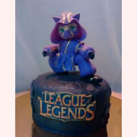 "Торт ""LEAGUE LEGENDS"""